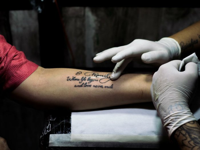 Why do people get memorial tattoos funeral zone australia for Is a d ointment good for new tattoos
